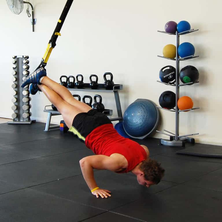 TRX Incline Press